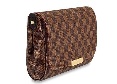 1fa0fe1dc4 Women's Canvas Pochette Favorite MM Double-use Chain Flap Bag Small Crossbody  Bag Shoulder Bag