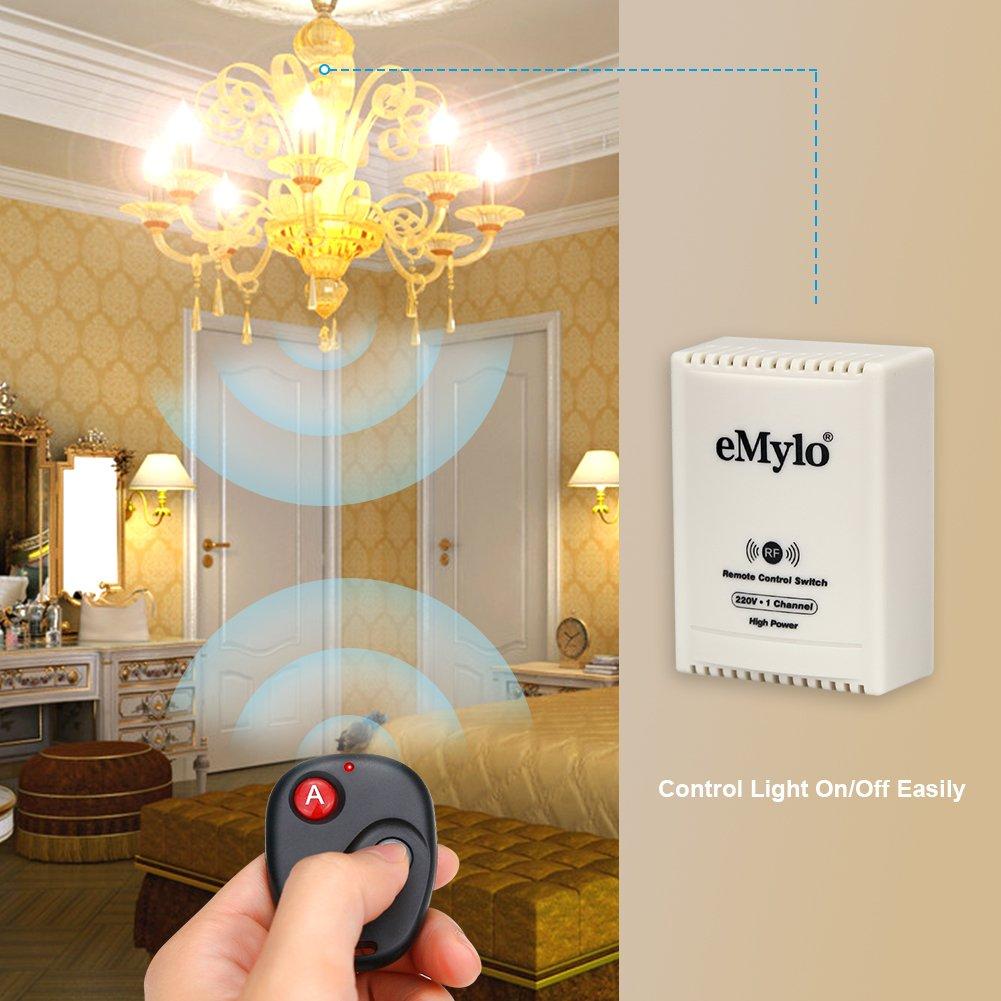 Schema Elettrico Emylo : Emylo ac v w a canale smart remote control switch