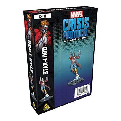 Atomic Mass Games Marvel Crisis Protocol: Star-Lord: Toys & Games