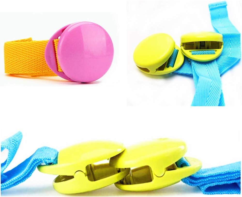Pour b/éb/é Pour accrocher la mousseline et les jouets Pour enfants /à la maison Pour poussette Lot de 4 clips de couverture de poussette portables pour b/éb/é