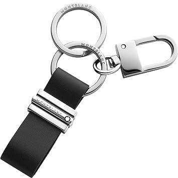Amazon.com: Montblanc - Llavero para hombre, color negro ...