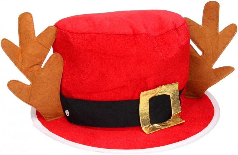 Reindeer Antlers Novelty Christmas Hat