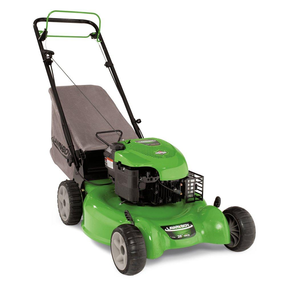 Amazon.com : Lawn Boy 10641 20-Inch Briggs & Stratton 675 Series Gas  Powered RWD Variable-Speed Self Propelled Lawn Mower : Walk Behind Lawn  Mowers : Garden ...