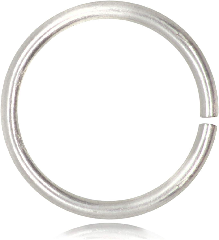 Argent Sterling 925 Sans Nickel Diametre 4mm 5 Pieces Anneaux Attache pour Bijoux