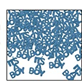 It's A Boy Fanci-Fetti (lt blue) Party Accessory  (1 count) (.5 Oz/Pkg)