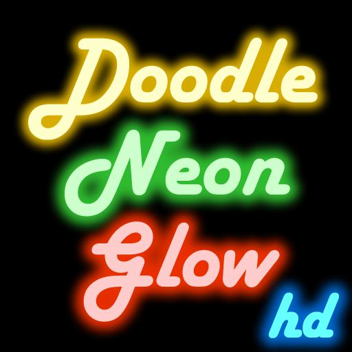 (Doodle Neon Glow)