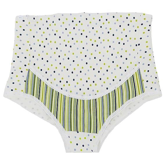 SODIAL 1pz Ropa interior de mujer embarazada impresion de maternidad embarazo (XL, Verde)