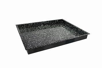 Backblech GN 1//1 60 mm hoch Granit-Emaille-Beschichtung gastlando