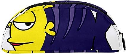 TIZORAX Estuche de dibujos animados de peces Bigeye Peces Bolsa de papelería Estuche de bolígrafos Caja de cosméticos para adolescentes, niñas, niños y niñas: Amazon.es: Oficina y papelería