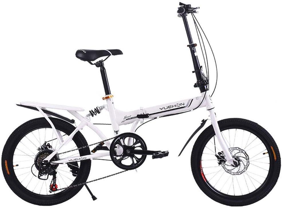 YOUSR Circuito De Bicicleta Plegable De 20 Pulgadas - Bicicleta ...
