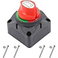 WarmCare 12V / 24V de la batería interruptor principal aislador Cut On / Off interruptor de desconexión de 4 posiciones…