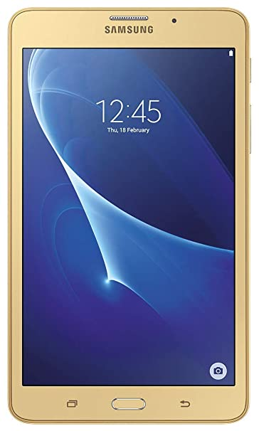 Samsung Galaxy J Max Tablet  7 inch, 8 GB,Wi Fi+4G with Voice Calling , Gold Computers   Accessories
