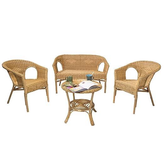 Rotin Design Rebajas : -47% Salon Chris de Mimbre Miel ...