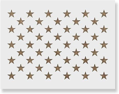 Stars Stencil 100