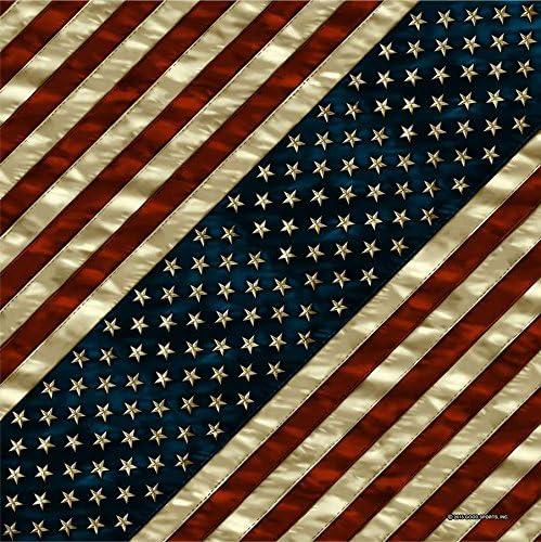 Bandana Tejido pañuelo Biker Flag Us Bandera de Estados Unidos: Amazon.es: Coche y moto