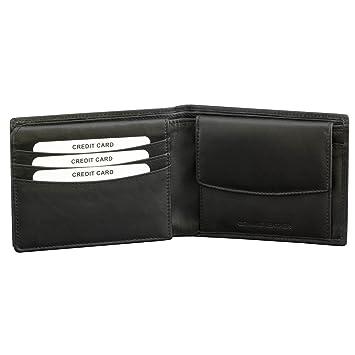 d9ae950fa4f77a KORUMA RFID Schutzhülle Herren Geldbörse Geldbeutel Portemonnaie Leder  (62NBL)