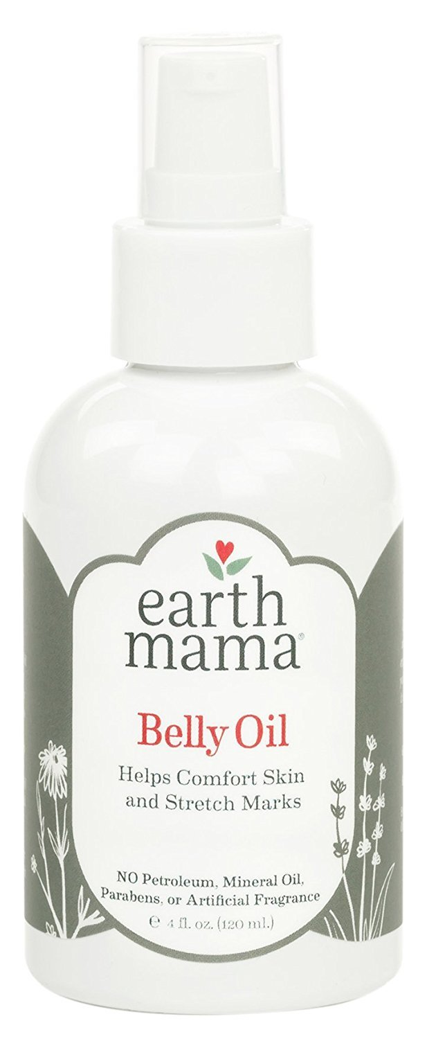EARTH MAMA ANGEL BABY NATURAL STRETCH OIL PREGNANCY 4 OZ (two pack)