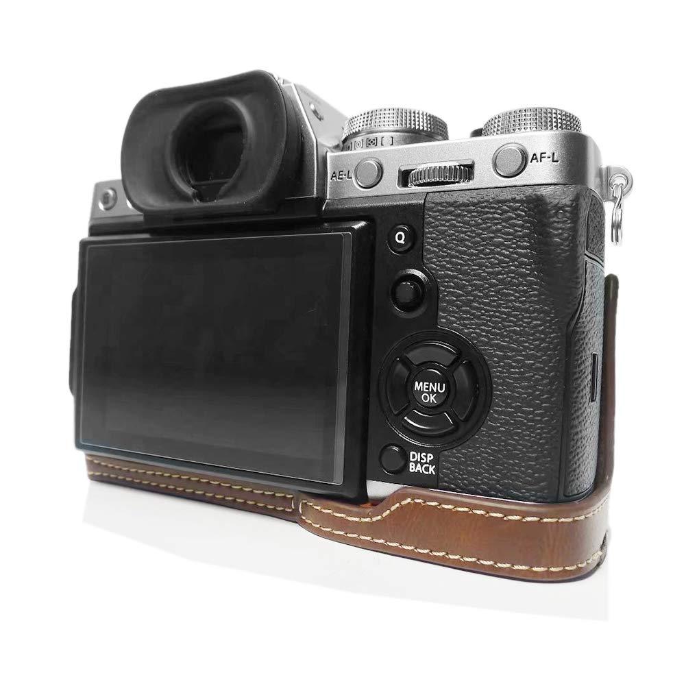 Fuji X-T3 Funda para cámara, Media Funda kinokoo para Fujifilm X ...