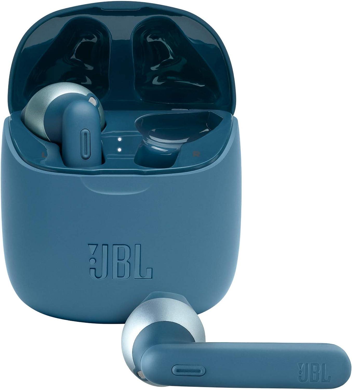 Jbl Tune 225 Tws Lifestyle Bluetooth Kopfhörer In Blau Elektronik