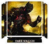 Dark Souls III 3 DS3 Game Skin for Sony Playstation 4 Slim - PS4 Slim Console - 100% Satisfaction Guarantee!