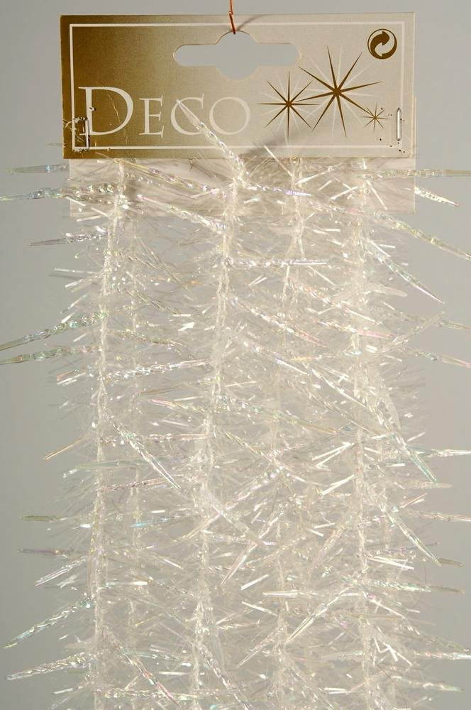 Christmas Decoration Icicle Garland with Tinsel Kaemingk (KK)