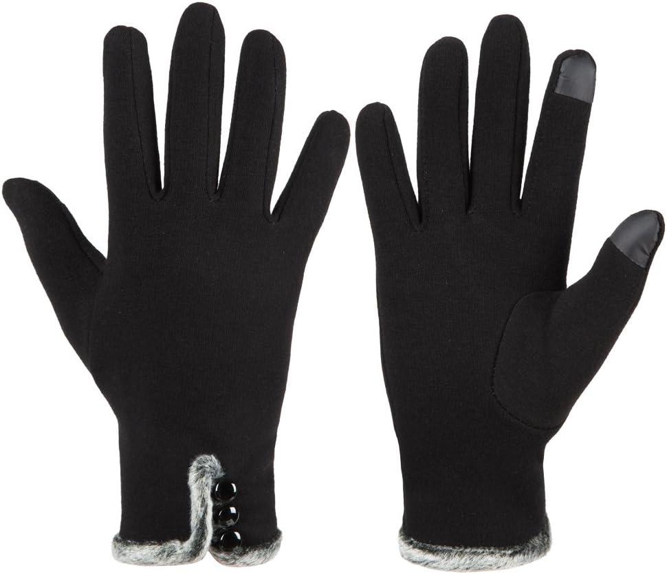 Refial Winter Gloves Touchscreen Gloves Men Women Warm Windproof Anti-Slip Running Cycling Driving Gloves Flexible Liner Gloves