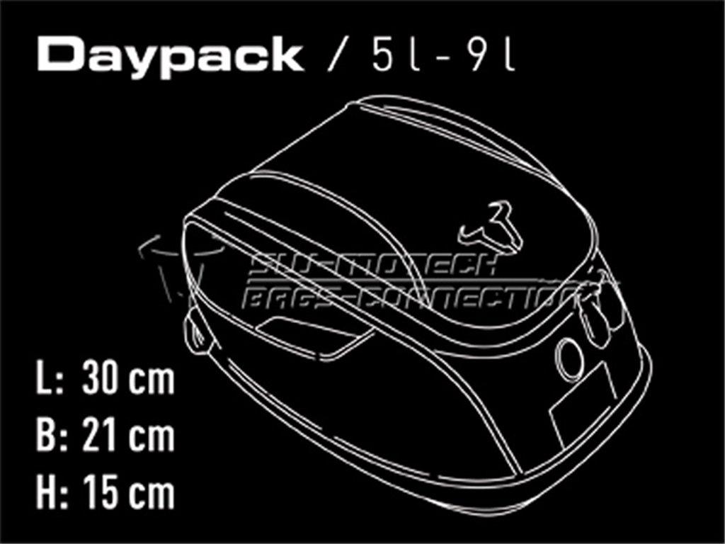 SW-Motech TRT640.14001 EVO Daypack Tankrucksack Set Kawasaki