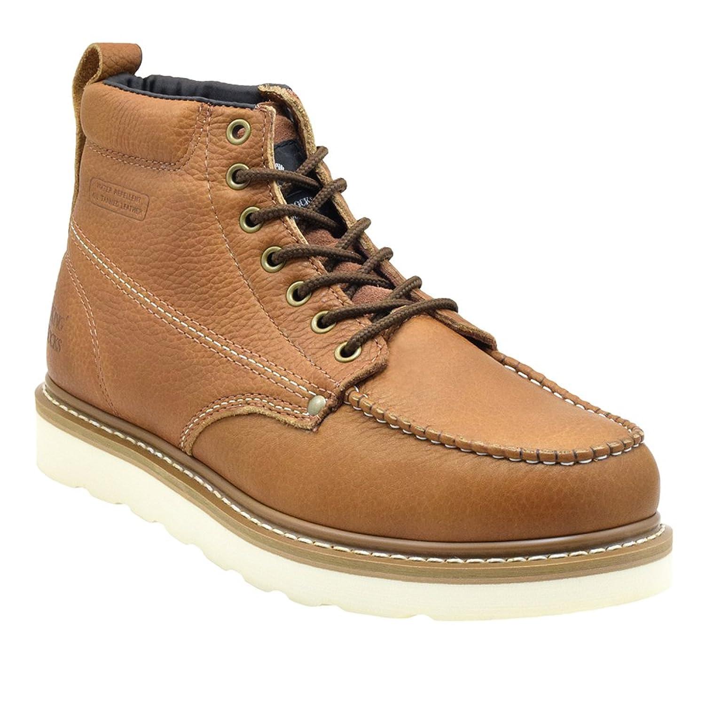 Amazon.com   King Rocks Men's Moc Toe Construction Boots Work ...