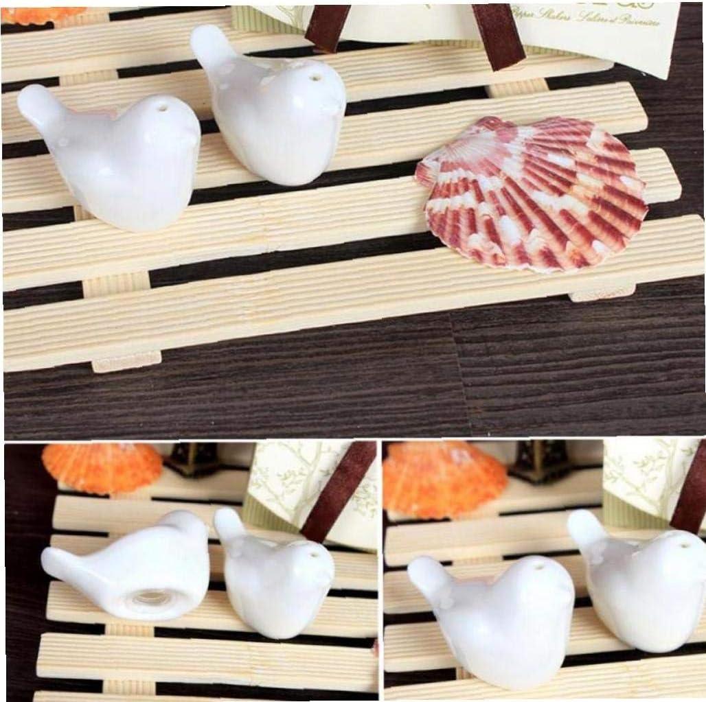 Porcelain Birds Salt and Pepper Shakers Set Cruet Caster Ceramic Seasoning Container Storage Jars Kitchen Gadgets