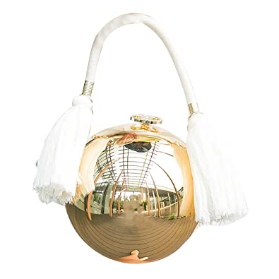 Round Ball Clutch Purse Evening Bag Shoulder Handbag  Handbags  Amazon.com