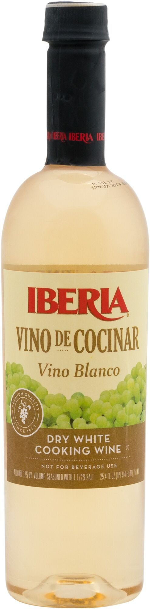Iberia White Cooking Wine, 25.4 Ounce (Pack of 12)