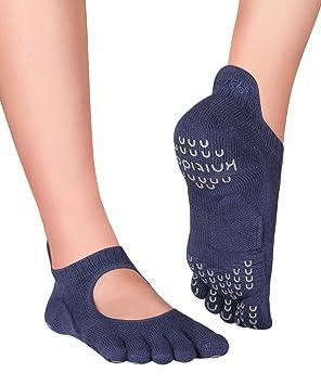 Knitido Plus Kumo Calcetines de Dedos para Yoga, Pilates ...