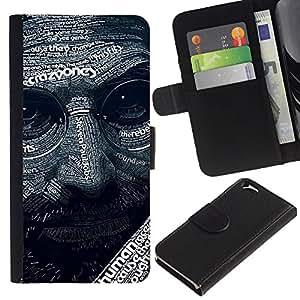 KingStore / Leather Etui en cuir / Apple Iphone 6 / Resumen Steve J Patrón
