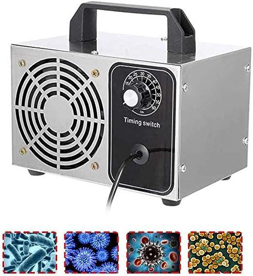 CJFF Generador ozono 10g/20g/24g/28g/H Purificador Aire O3 Profesional Ozonizador Industrial Ionizadores de Aire ...
