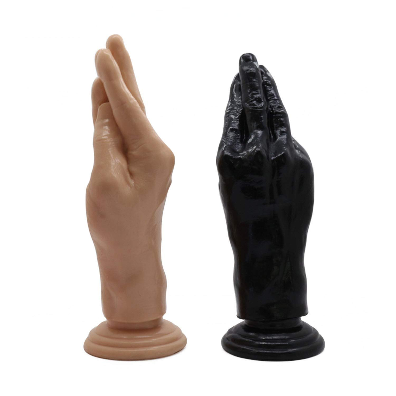Amazon.com: 21.5cm/ 8.46 inchs Arm Fisting Hand Shape Anal Masturbation  Butt Plug Big Fist Sex Toys for Women Gay: Health & Personal Care