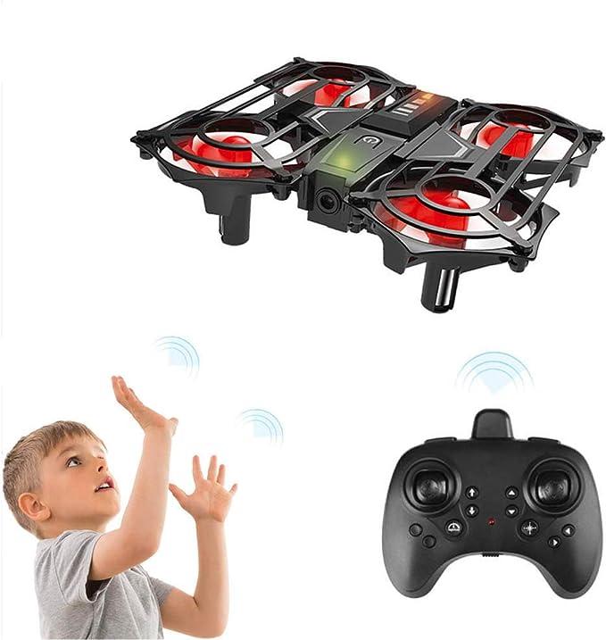 Achort Mini Drone para Niños y Principiantes, Mini RC Drone Quadrotor 2.4G 4CH Giroscopio de 6 E...