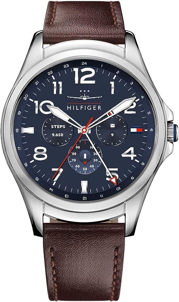 Tommy Hilfiger Reloj Hombre de Digital con Correa en Cuero 1791406 ...