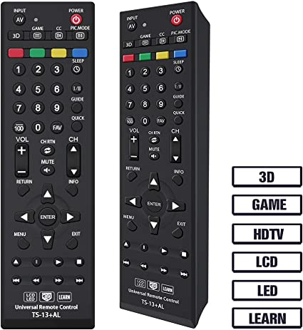 CT-90325 CT-90326 CT-90329 CT-8037 CT-90302 CT-90275 CT-90 CT-90366 Gvirtue Universal Remote Control Compatible Replacement for Toshiba TV//HDTV//LCD//LED