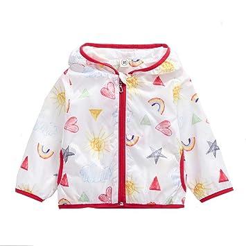 19492806d Gaddrt Fashion Cute Boys Girls Clothes Coat Sunscreen Coat Hooded ...
