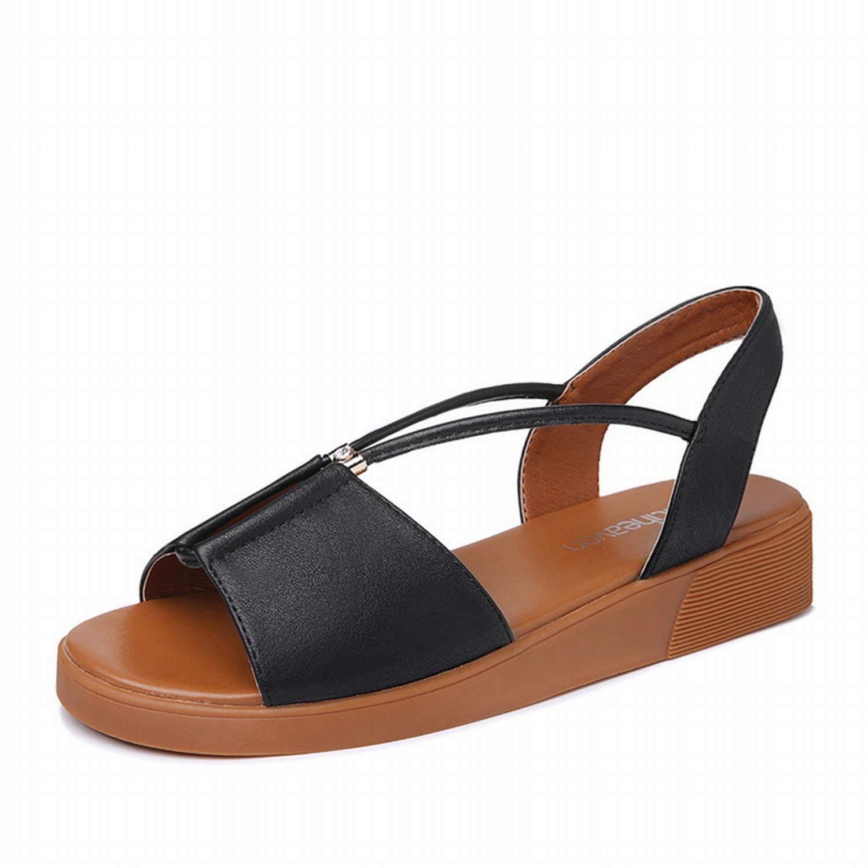 Fuxitoggo Schuhe Damen Schuhe Damen Damen Schuhe Damen Schuhe (Farbe   Schwarz Größe   50) c7c958