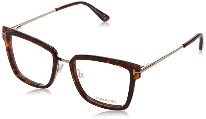 56e158d643 Image Unavailable. Image not available for. Color  Tom Ford FT5507 Eyeglass  Frames - Red Havana ...