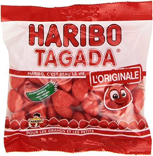 Haribo Fraises Tagada - Strawberry Flavo - Haribo Strawberry Candy Shopping Results