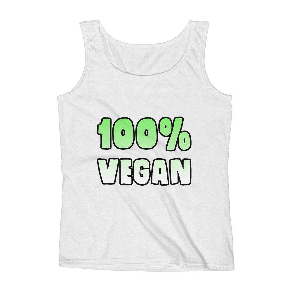 Mad Over Shirts 100/% Vegan Unisex Premium Tank Top