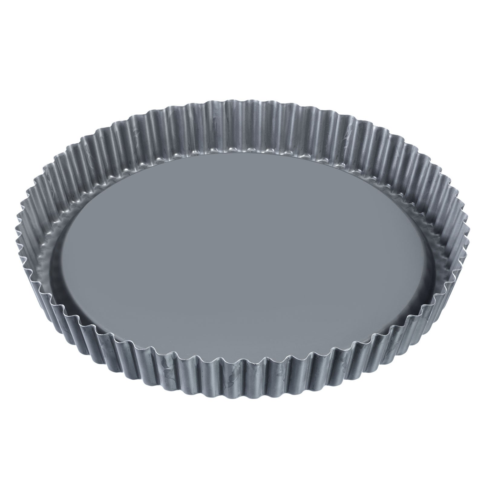 Westmark 33942260 Fruit Tart Tin Nonstick Coated Perfect for Cakes, Pies, Tarts, Flans, 11'', Gray