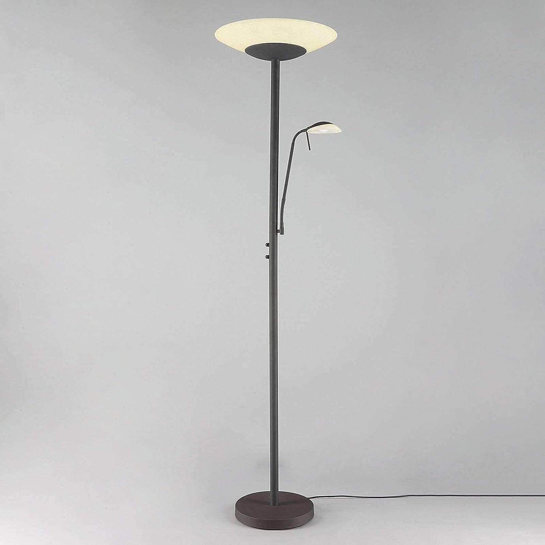 Lindby Led Stehlampe Ragna Dimmbar Landhaus Vintage Rustikal