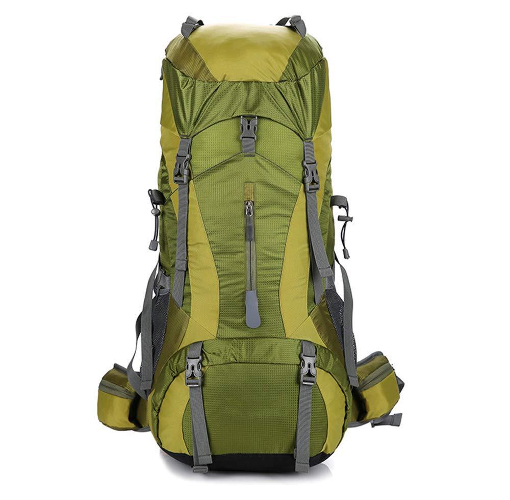 D  ZJY 75L étanche Randonnée Sac à Dos Sport en Plein Air Daypack Voyage pour Escalade Camping Randonnée Alpinisme Sac De Pêche avec Housse De Pluie-A