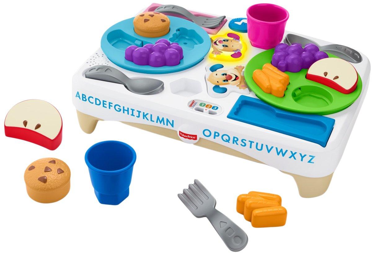 Fisher-Price fbm90 Laugh and Learn Decir por Favor Aperitivo Set Mattel