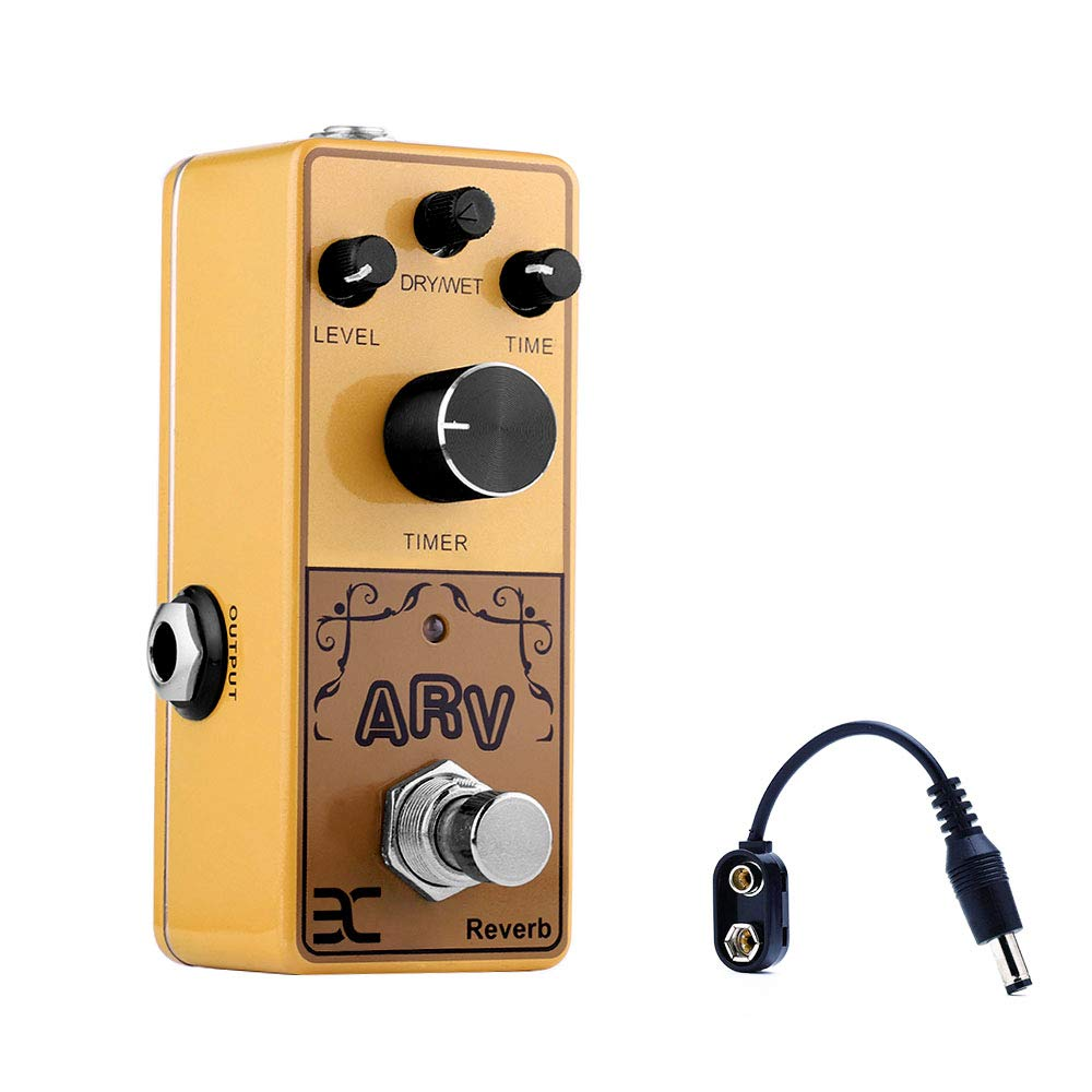 EX Acoustic Guitar Mini Preamp Reverb Pedal Features of Reverb Effects Polishing Acoustic Guitar Sound With A Maximum Of Sound Dynamic by EX Effects Device
