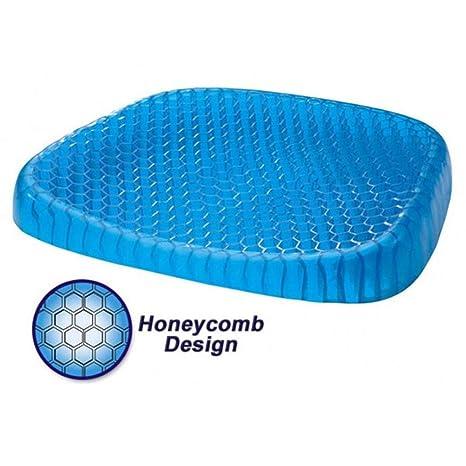 CHEYAL Cojín de Silicona Honeycomb, Alivio del Dolor, cojín ...