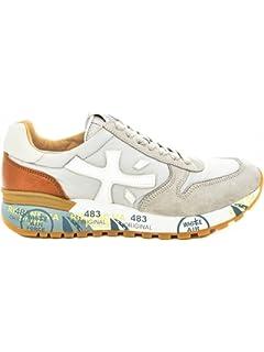 PREMIATA Damen Sneaker Silber Silber Schwarz, Silber - Silber ... be539a2201